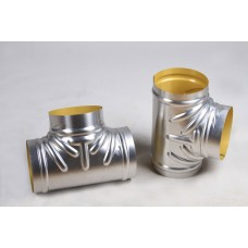 Aluminum Tee Covers-12 IPS-2 Insulation Thickness