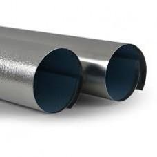 "Aluminum, Cut & Rolled To Size-Alu 0.020 - Plain SS - 130"""